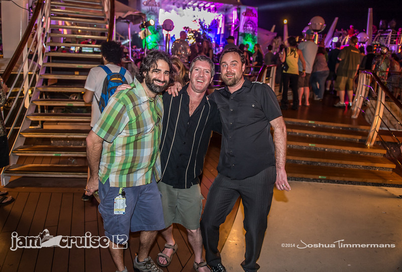 Dumpstaphunk- Jam Cruise 12 - Pool Deck Stage - 1/7/14 - MSC Divina. ©Josh Timmermans 2014