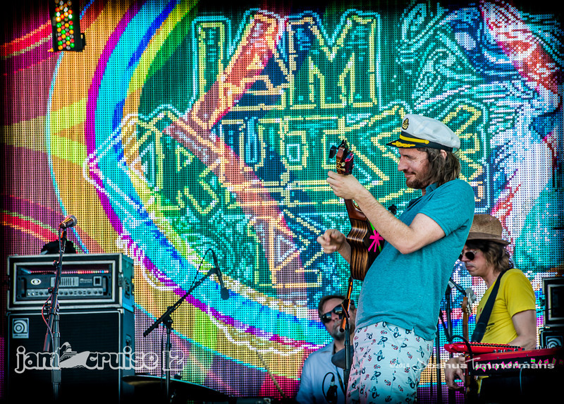 ALO & Friends - Jam Cruise 12 - Pool Deck Stage - 1/7/14 - MSC Divina. ©Josh Timmermans 2014
