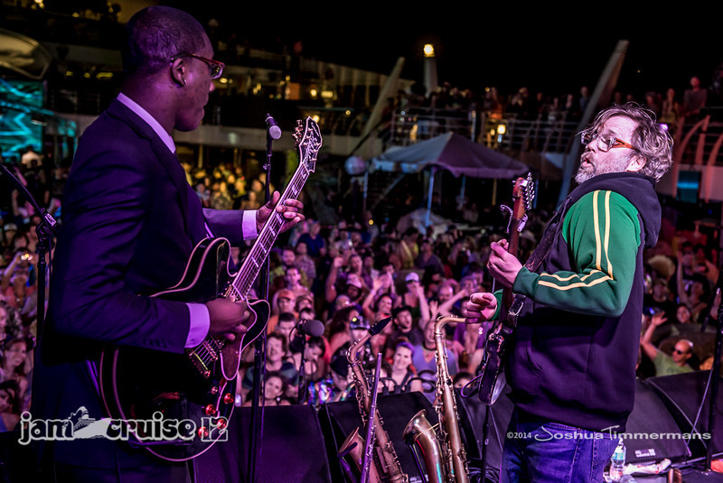 Karl Denson's Tiny Universe- Jam Cruise 12 - Pool Deck Stage - 1/7/14 - MSC Divina. ©Josh Timmermans 2014