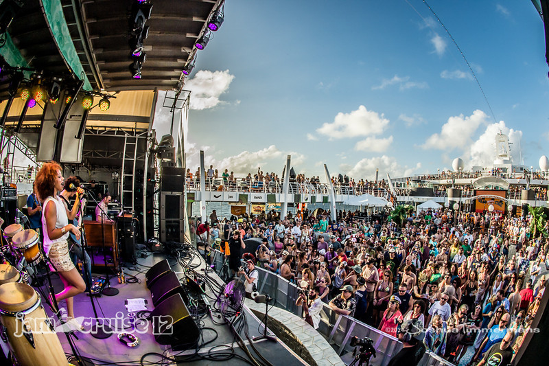 Orgone - Jam Cruise 12 - Pool Deck Stage - 1/7/14 - MSC Divina. ©Josh Timmermans 2014