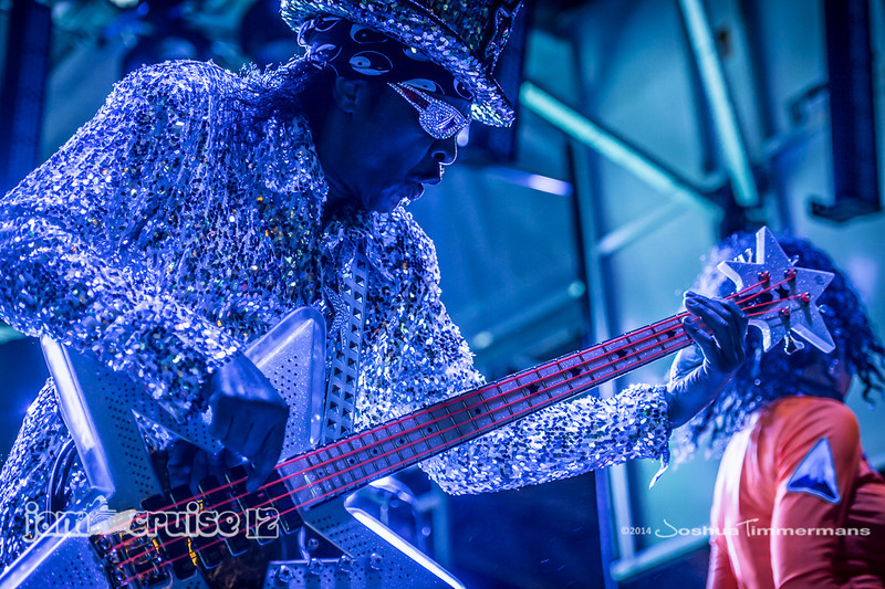 Bootsy Collins & The Funk Unity Band- Jam Cruise 12 - Pool Deck Stage - 1/7/14 - MSC Divina. ©Josh Timmermans 2014