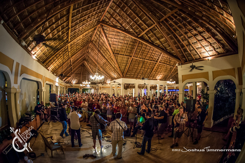 Keller Williams & The Travelin McCourys - Strings & Sol - 12/12/13 - Now Sapphire Resort, Puerto Morelos Mexico. ©Joshua Timmermans 2013