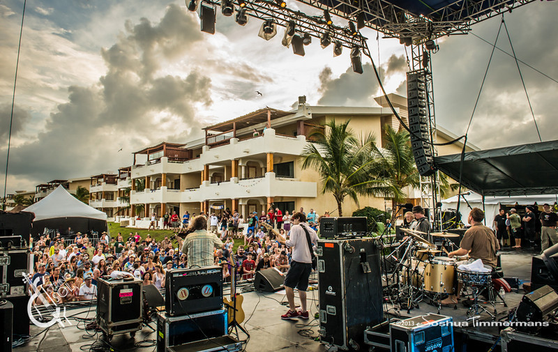 Railroad Earth - Strings & Sol - 12/12/13 - Now Sapphire Resort, Puerto Morelos Mexico. ©Joshua Timmermans 2013